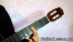 Аккорд Am на гитаре - фото, видео, схема Аккорды H7