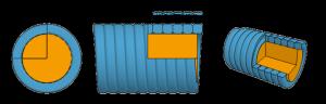 струны с плоской оплеткой