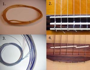 Разновидности струн для гитары