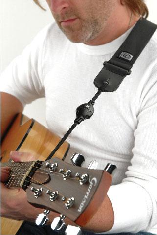 гитара на ремне