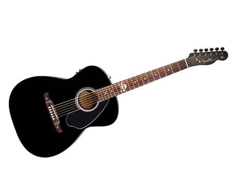 Игра на полуакустической гитаре видео